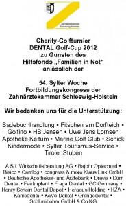 Charity Anzeige 2012